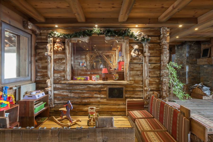Location au ski Résidence P&V Premium les Alpages de Reberty - Les Menuires - Intérieur