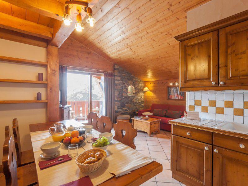 Location au ski Appartement 3 pièces 6-8 personnes - Résidence P&V Premium les Alpages de Reberty - Les Menuires