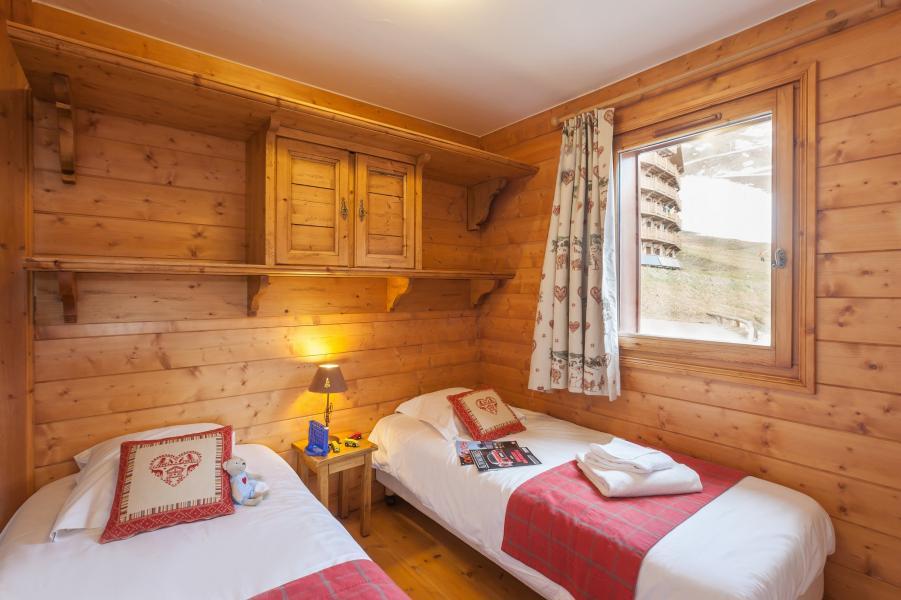 Alquiler al esquí Résidence P&V Premium les Alpages de Reberty - Les Menuires - Cama individual