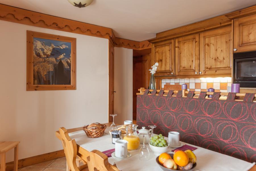 Location au ski Résidence P&V Premium les Alpages de Reberty - Les Menuires - Coin repas