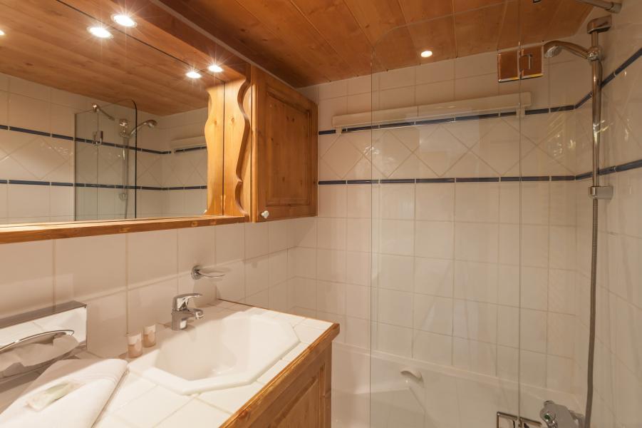 Location au ski Résidence P&V Premium les Alpages de Reberty - Les Menuires - Salle de bains
