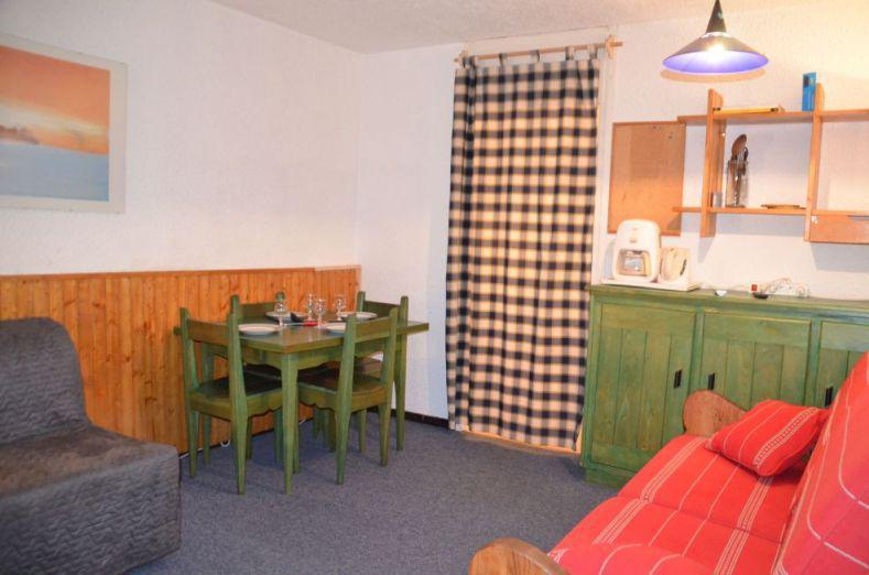 Location au ski Studio 2 personnes (92) - Résidence Pelvoux - Les Menuires - Intérieur