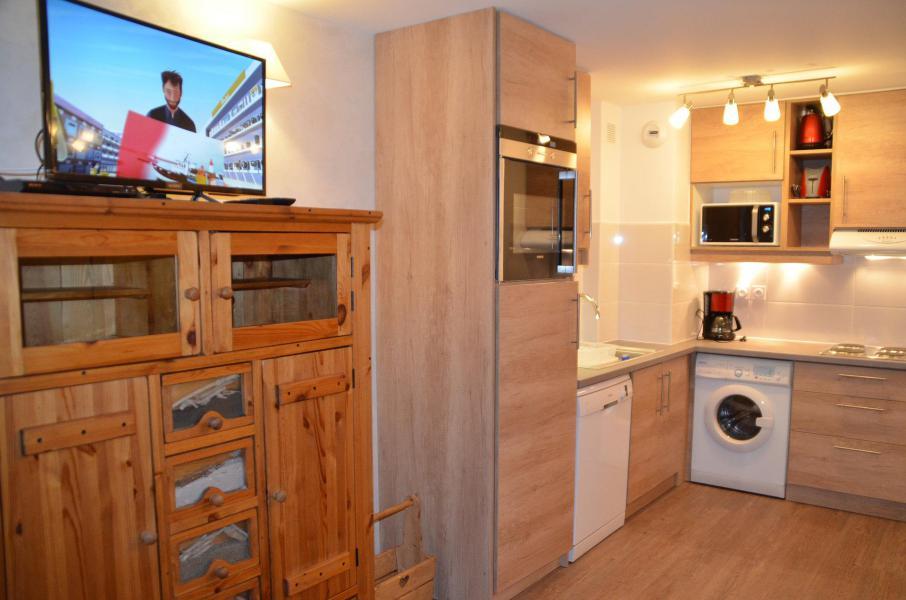 Location au ski Appartement 3 pièces 6 personnes (PV54) - Résidence Pelvoux - Les Menuires - Cuisine