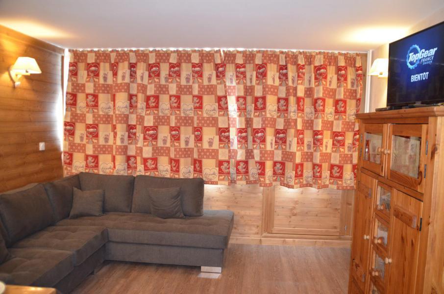 Location au ski Appartement 3 pièces 6 personnes (PV54) - Résidence Pelvoux - Les Menuires - Séjour