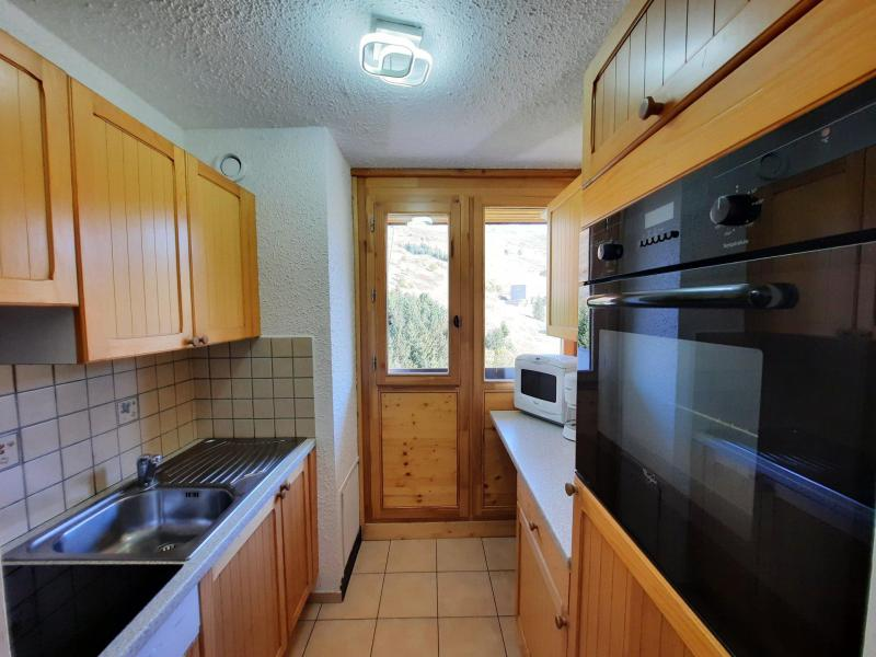 Location au ski Appartement 3 pièces 8 personnes (106) - Résidence Pelvoux - Les Menuires - Cuisine