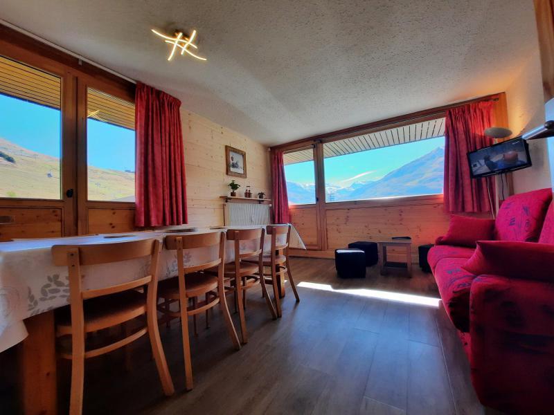 Location au ski Appartement 3 pièces 8 personnes (106) - Résidence Pelvoux - Les Menuires - Séjour
