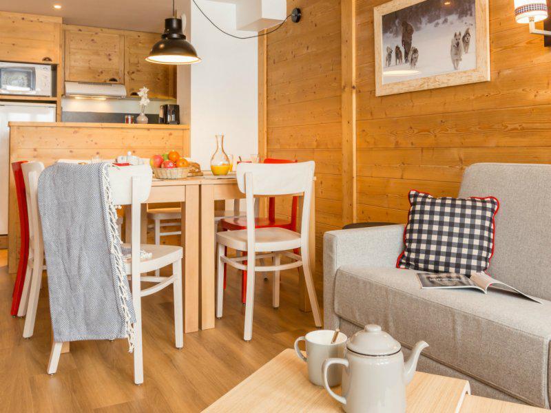 Alquiler al esquí Apartamento 3 piezas 7-9 personas - Résidence Pierre & Vacances Aconit - Les Menuires