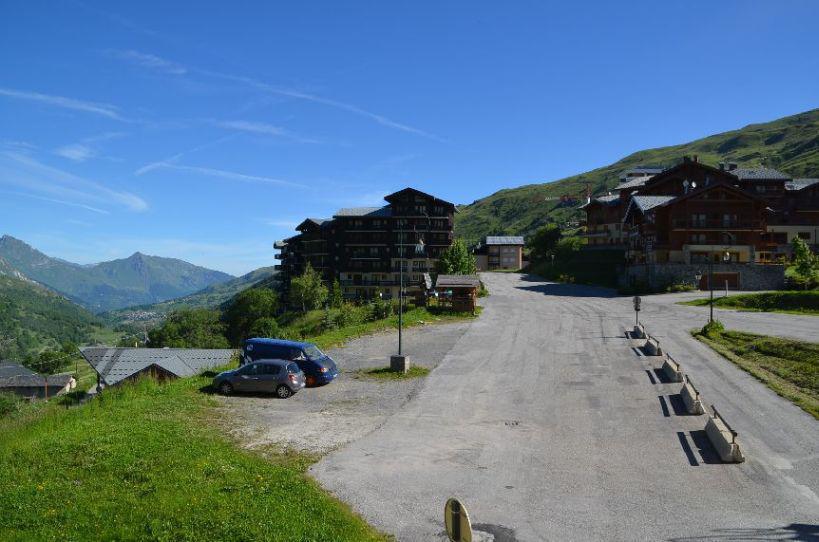 Location au ski Studio 2 personnes (301) - Résidence Sarvan - Les Menuires - Salle d'eau