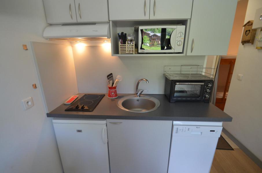 Location au ski Studio cabine 2 personnes (501) - Residence Sarvan - Les Menuires - Lave-linge