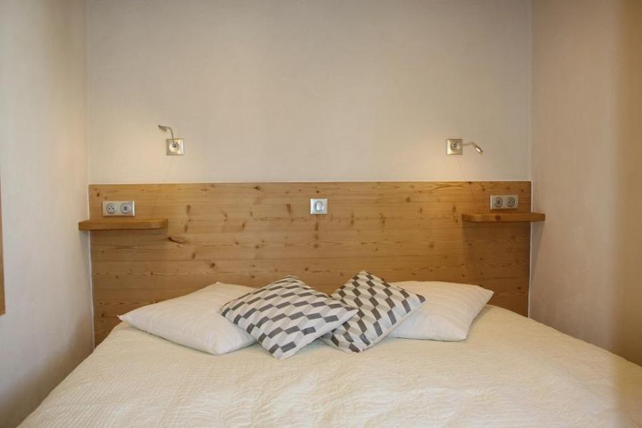 Alquiler al esquí Apartamento 2 piezas cabina para 4 personas (104) - Résidence Soldanelles - Les Menuires - Cama doble