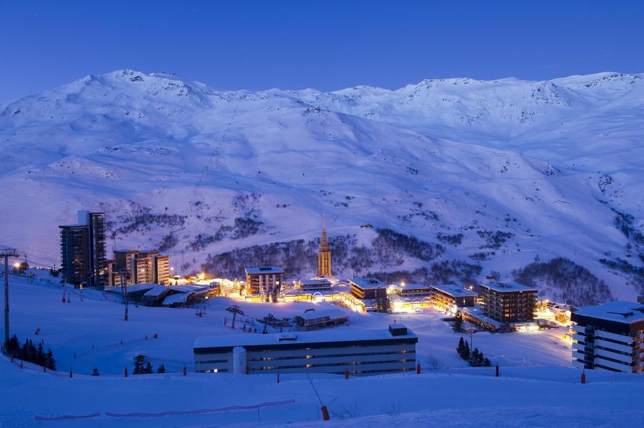 Location au ski Résidence Soleil Vacances les Menuires - Les Menuires - Extérieur hiver