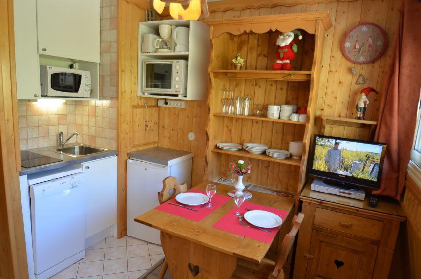 Location au ski Studio 2 personnes (1539) - Résidence Tougnette - Les Menuires