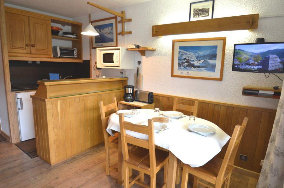 Location au ski Studio 4 personnes (1618) - Résidence Trois Marches - Les Menuires - Cuisine