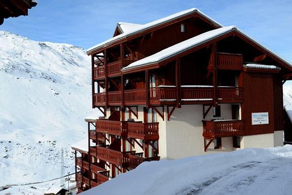 Location au ski Résidence Valmont - Les Menuires - Extérieur hiver
