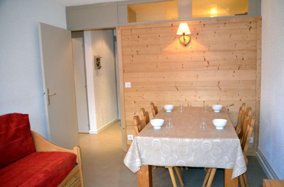 Location au ski Appartement 2 pièces 6 personnes (118) - Résidence Vanoise - Les Menuires - Coin repas