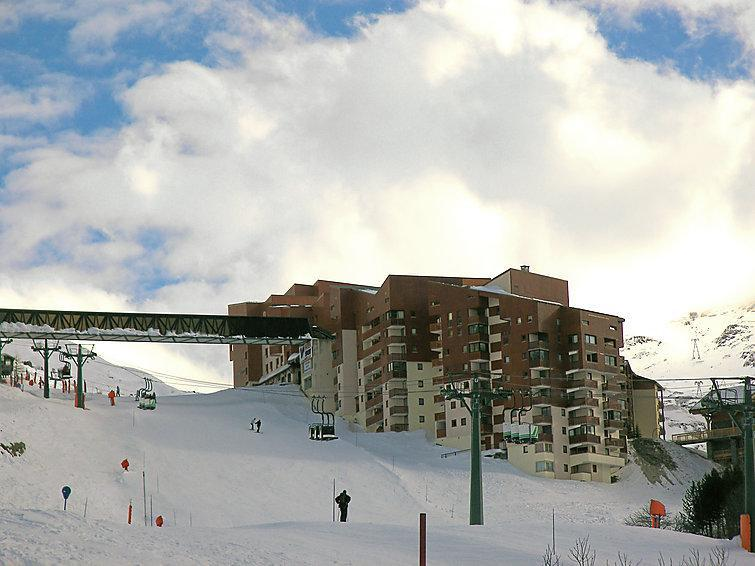 Holiday in mountain resort 1 room apartment 4 people (1) - Ski Soleil - Les Menuires - Winter outside