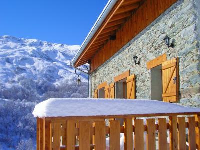 Location au ski Chalet Balcon Cime de Caron - Les Menuires - Extérieur hiver