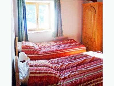 Location au ski Chalet triplex 8 pièces 16 personnes - Chalet Balcon Cime De Caron - Les Menuires - Lit double
