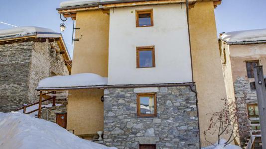 Vacances en montagne Chalet Ballade - Les Menuires - Extérieur hiver
