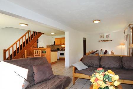 Rent in ski resort 6 room duplex apartment 13 people - Chalet Cristal - Les Menuires - Settee
