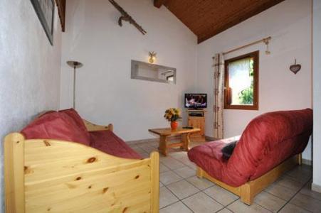Location au ski Appartement duplex 4 pièces 10 personnes - Chalet Cristal - Les Menuires - Coin séjour