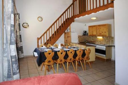 Location au ski Appartement duplex 4 pièces 10 personnes - Chalet Cristal - Les Menuires - Cuisine ouverte