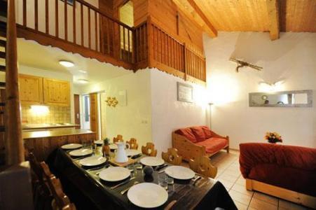 Location au ski Appartement duplex 4 pièces 10 personnes - Chalet Cristal - Les Menuires - Salle à manger