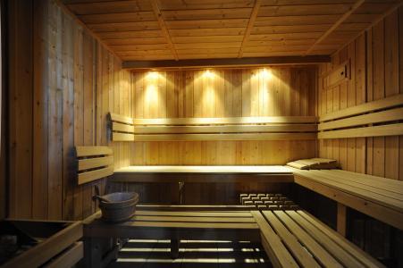 Location au ski Chalet Cristal - Les Menuires - Sauna