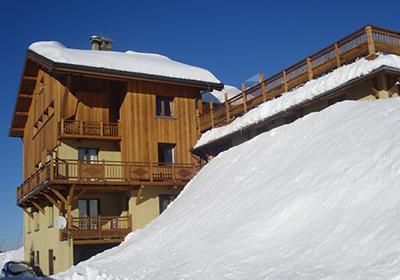 Location Les Menuires : Chalet De Marie hiver