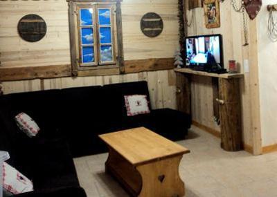 Location au ski Chalet mitoyen 7 pièces 12 personnes - Chalet Du Berger - Les Menuires - Séjour
