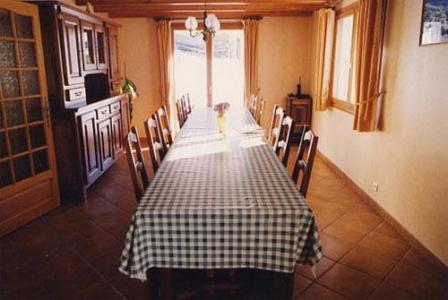 Location au ski Chalet triplex 7 pièces 16 personnes - Chalet Flocon De Belleville - Les Menuires - Salle à manger