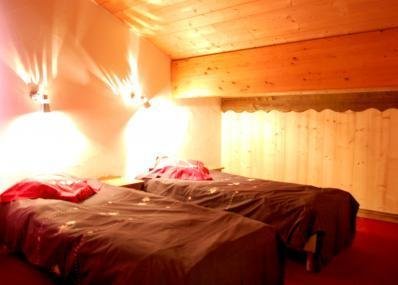 Location au ski Chalet Geffriand - Les Menuires - Lit simple