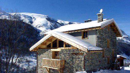Location Les Menuires : Chalet Gran Koute hiver