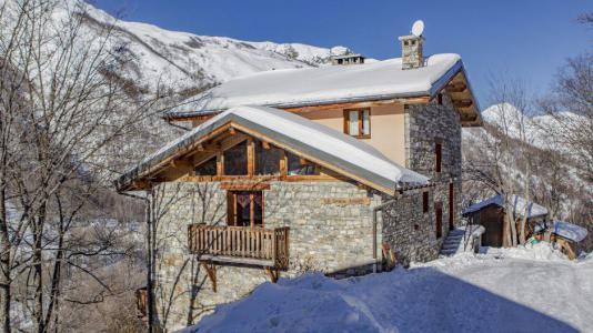Location au ski Chalet Gran Koute - Les Menuires - Extérieur hiver