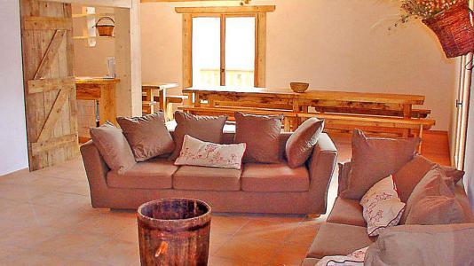 Location au ski Chalet Gran Koute - Les Menuires - Canapé