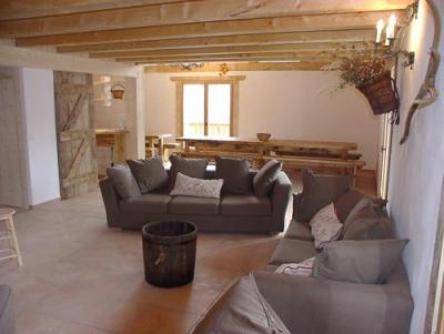 Location au ski Chalet 11 pièces 26 personnes - Chalet Gran Koute - Les Menuires - Séjour