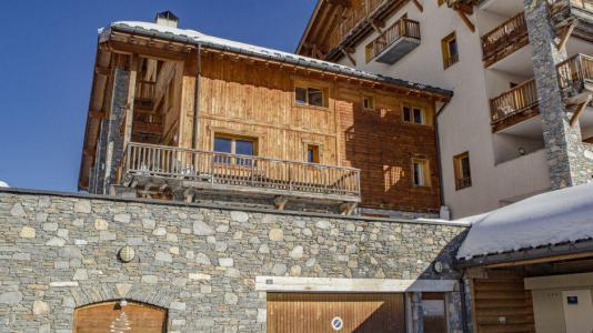 Vacances en montagne Chalet la Dame Blanche - Les Menuires - Extérieur hiver