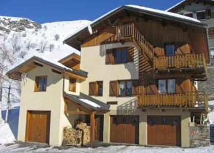 Location au ski Appartement 3 pièces 4-6 personnes - Chalet le Chamois - Les Menuires - Extérieur hiver