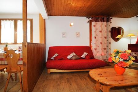 Location au ski Appartement 3 pièces 4-6 personnes - Chalet le Chamois - Les Menuires - Canapé