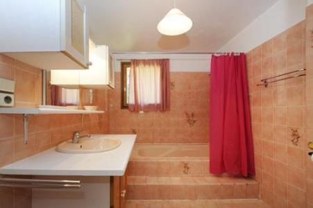 Location au ski Appartement 3 pièces 4-6 personnes - Chalet Le Chamois - Les Menuires - Lavabo