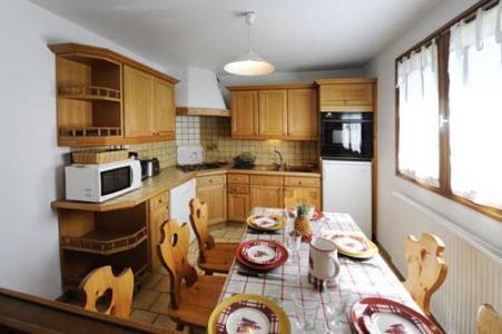 Location au ski Appartement 3 pièces 4-6 personnes - Chalet Le Chamois - Les Menuires - Salle à manger