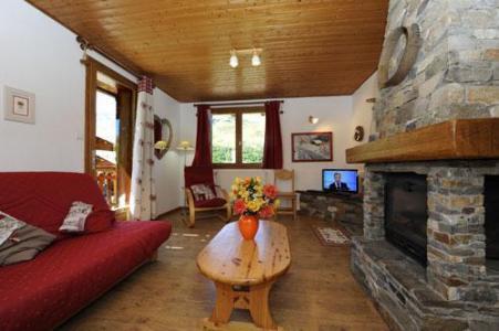 Location au ski Appartement 3 pièces 4-6 personnes - Chalet Le Chamois - Les Menuires - Séjour