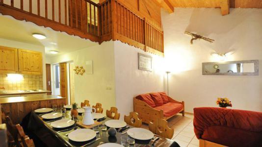 Location au ski Appartement duplex 4 pièces 10 personnes (3) - Chalet le Cristal - Les Menuires - Séjour