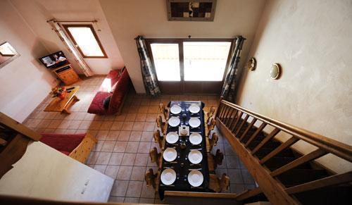 Location au ski Appartement duplex 4 pièces 10 personnes (3) - Chalet Le Cristal - Les Menuires - Table