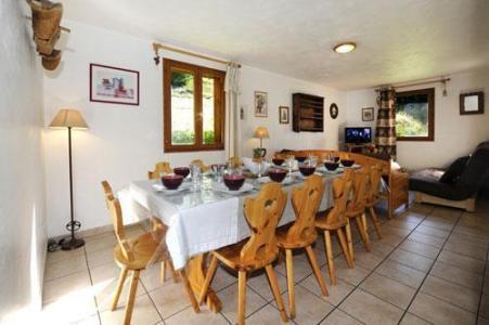 Location au ski Appartement duplex 6 pièces 13 personnes (1) - Chalet Le Cristal - Les Menuires - Salle à manger
