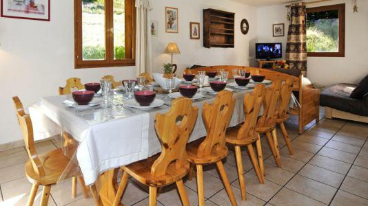 Location au ski Appartement duplex 6 pièces 13 personnes (1) - Chalet le Cristal - Les Menuires - Table