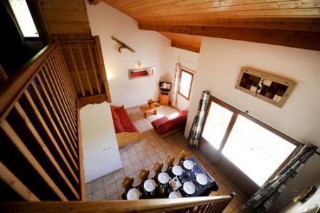 Location au ski Chalet Le Cristal - Les Menuires - Salle à manger