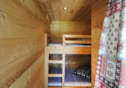 Location au ski Appartement 2 pièces coin montagne 4 personnes - Chalet le Génépi - Les Menuires - Lits superposés