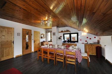 Location au ski Appartement 3 pièces 8 personnes - Chalet Le Genepi - Les Menuires - Cuisine ouverte
