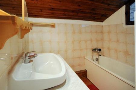 Location au ski Appartement 3 pièces 8 personnes - Chalet Le Genepi - Les Menuires - Salle de bains